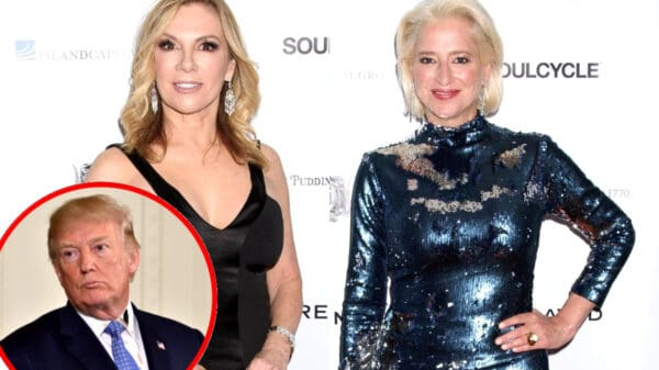 Ramona Singer Unfollows Dorinda Medley After Former RHONY Star Compares Her to Donald Trump, Plus Trump Tests Positive For COVID-19