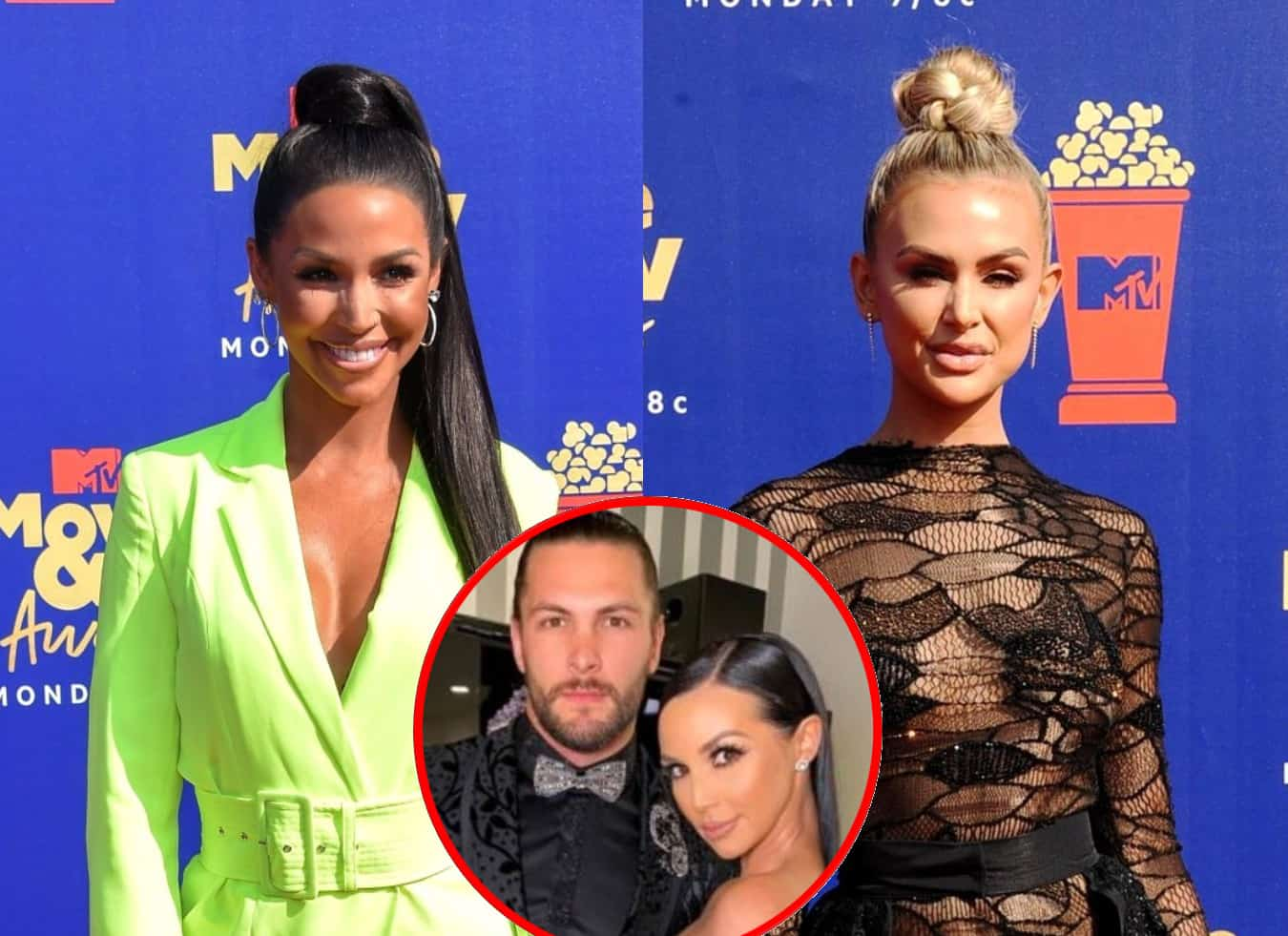 """Vanderpump Rules' Scheana Shay On Why She'll """"Never"""" Be Friends With Lala Kent Again and Claims She """"Lied,"""" Defends Boyfriend's Brock's Reaction to Her Miscarriage"""