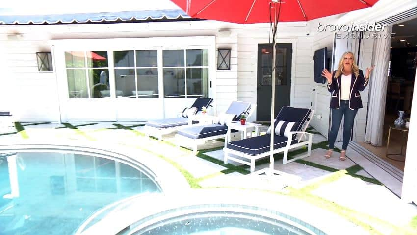 Shannon Beador Home - Pool Area