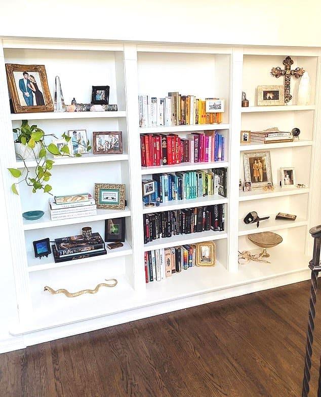 Stassi Schroeder Home Shelf