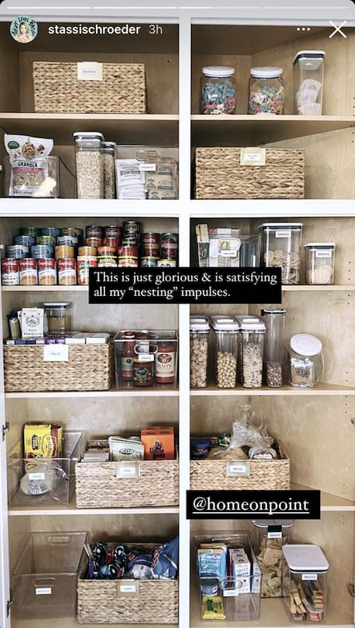 Vanderpump Rules Stassi Schroeder Shows Off Organized Pantry at Hollywood Hills Home
