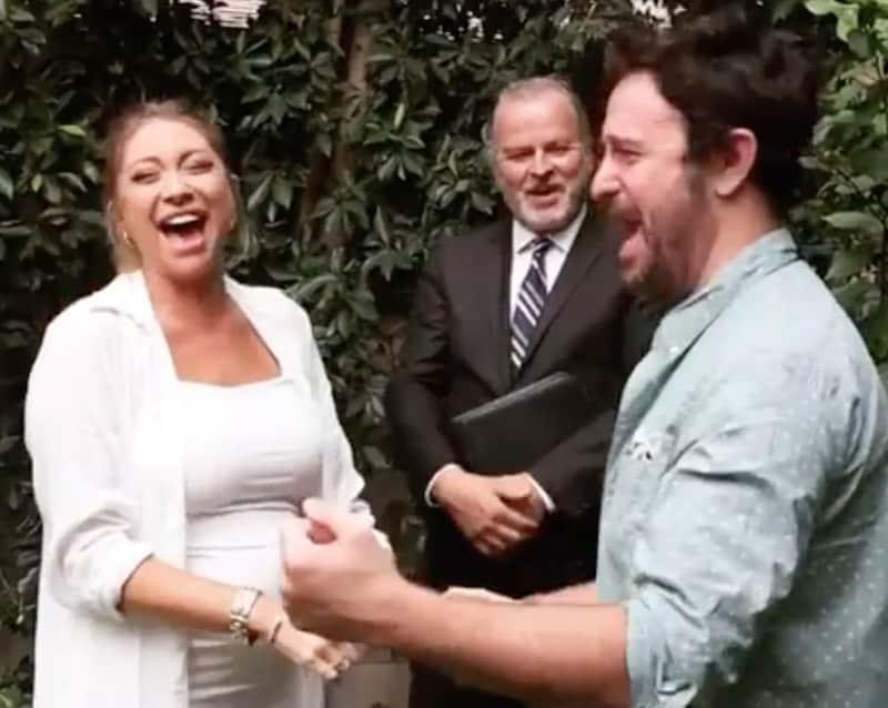 Vanderpump Rules Stassi Schroeder and Beau Clark Get Married in Outdoor Ceremony