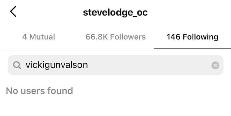 RHOC Steve Lodge is Not Following Vicki Gunvalson Amid Split Rumors