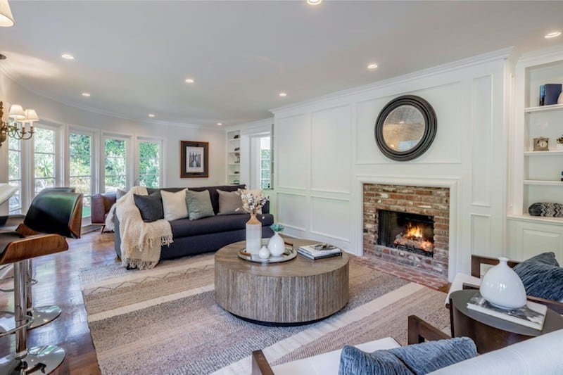 RHOBH Sutton Stacke Family Room