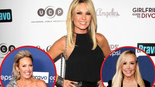 RHOC Alum Tamra Judge Reacts to Allegations of Gossiping About Braunwyn Windham-Burke's Drinking and Accuses Shannon of Running to Production After Learning of Her Sobriety, Plus Vicki Gunvalson Complains About Their Names Being Used for Storylines