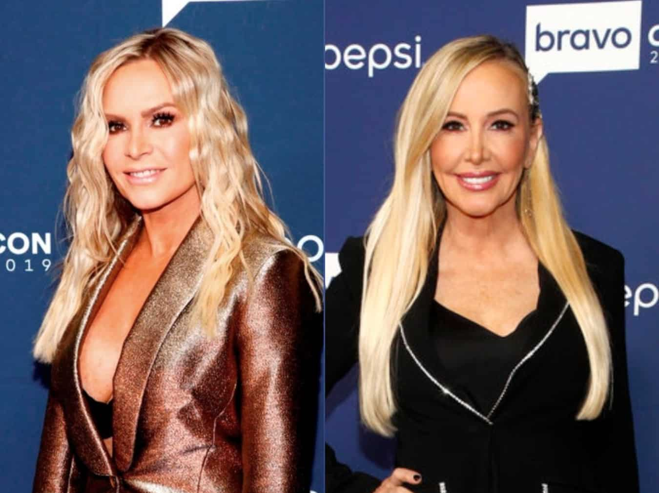 "Tamra Judge Shares the Last Text She Got From Shannon Beador and Talks Being ""A Little Sad"" After RHOC Premiere, Plus She Dishes on Tarek and Heather Friendship"