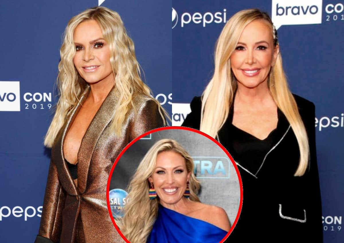 """Tamra Judge Slams Shannon Beador for Being a """"Diva"""" on RHOC Set, Claims She """"Yells"""" and """"Screams"""" at Producers, Talks Braunwyn's Excessive Drinking Off-Camera Last Season"""