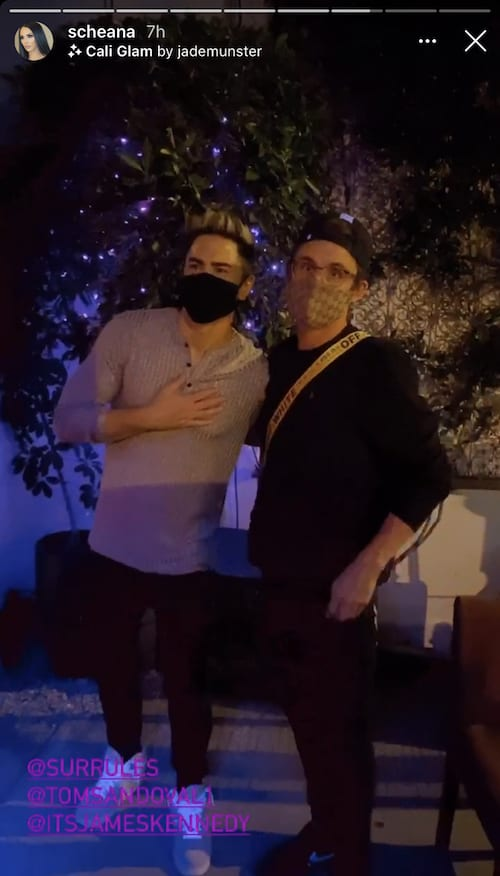 Vanderpump Rules Tom Sandoval and James Kennedy Return to SUR After Quarantine