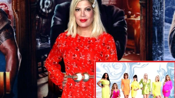 "REPORT: Tori Spelling is Joining RHOBH Cast in ""Friend"" Role for Season 11 Amid Her Mom's Issues With Fellow Rumored ""Friend"" Kathy Hilton, Plus What Erika Jayne Said About Tori's Potential Addition"