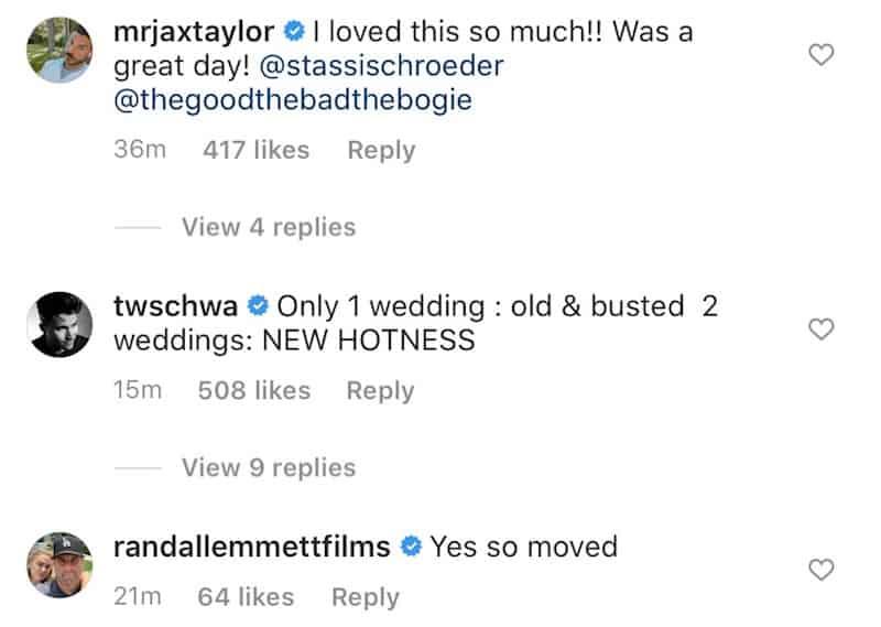 Vanderpump Rules Cast Reacts to Stassi Schroeder and Beau Clark Wedding