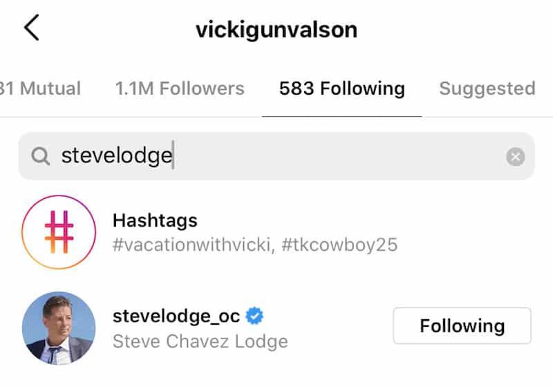 RHOC Vicki Gunvalson Re-Follows Fiance Steve Lodge