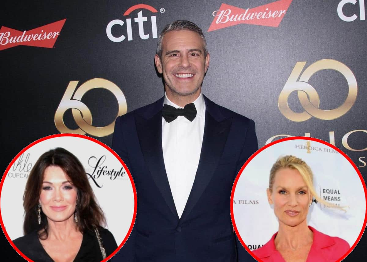 Andy Cohen Explains RHOBH Cast's Resentment of Lisa Vanderpump and Why Fans Will Likely Never See Nicolette Sheridan on Show, Reacts to Lisa Rinna's Angry Feud With Denise, and Talks Ultimatums From Cast Members
