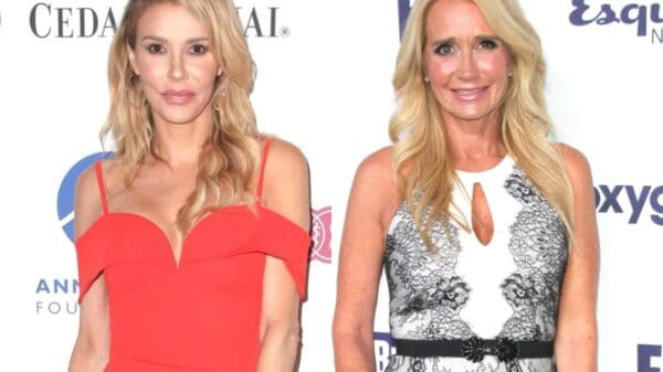 "RHOBH's Brandi Glanville Reacts to Rumors Regarding an Alleged Hookup With Kim Richards, Opens Up About Their ""Girls Nights"" and Reveals Kim's Relationship Status"