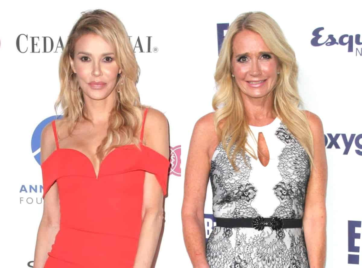"RHOBH's Brandi Glanville Addresses Rumors of Hookup With Kim Richards, Opens Up About Their ""Girls Nights"" and Reveals Kim's Relationship Status"