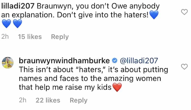 RHOC Braunwyn Windham-Burke Admits Nannies Help Her Raise Her kids