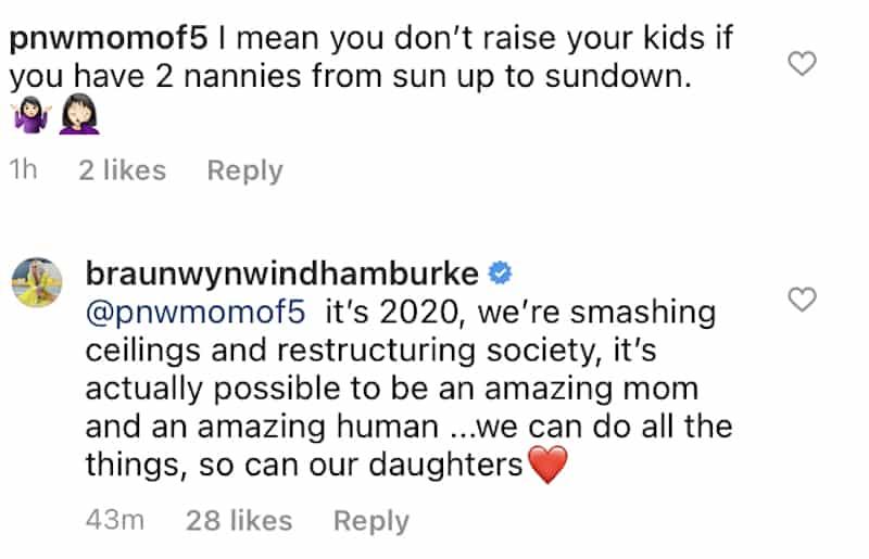 RHOC Braunwyn Windham-Burke Defends Herself for Raising Her Kids With Nannies