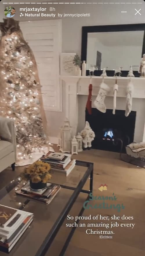 Vanderpump Rules Brittany Cartwright Decorated Her and Jax Taylor's House for Christmas