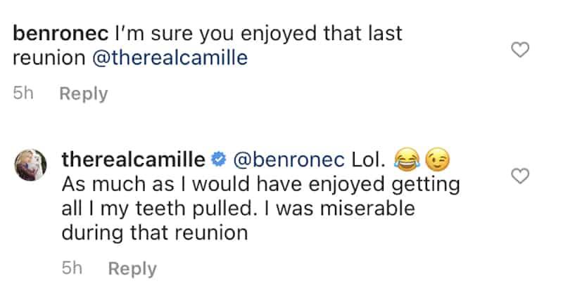 Camille Grammer Was Miserable During RHOBH Season Nine Reunion