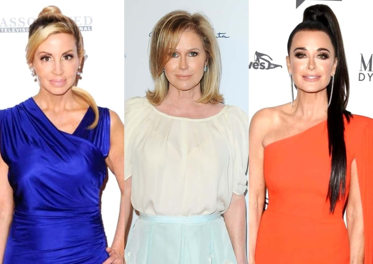 Camille Grammer Reacts to Kathy Hilton Joining RHOBH Cast and Offers an Update on Where She Stands With Kyle Richards
