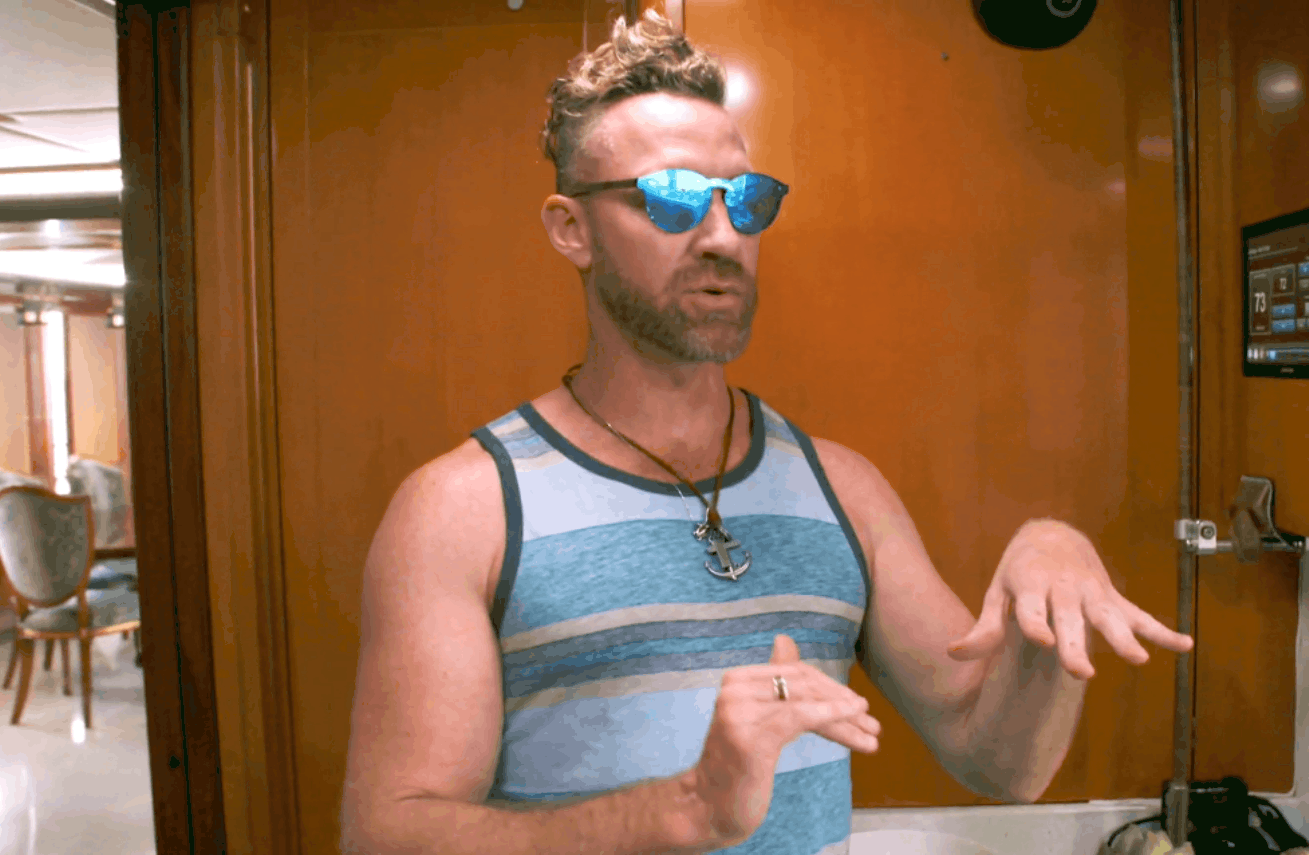 """Disruptive Below Deck Charter Guest Charley Walters Defends His Behavior and Claims Production Told Him to be """"Demanding,"""" Plus He Claims He's """"Friends"""" With the Crew Now"""