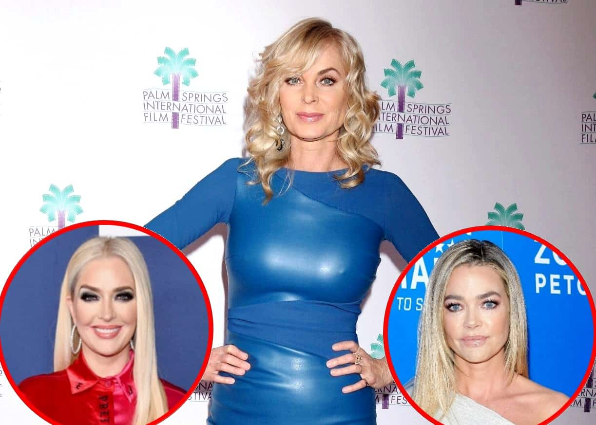 "Eileen Davidson Weighs in on Erika Jayne's Divorce and Denise Richards' RHOBH Drama, Says it Didn't Make Anyone ""Look Really Super Great"" and Details Run-in With Denise"