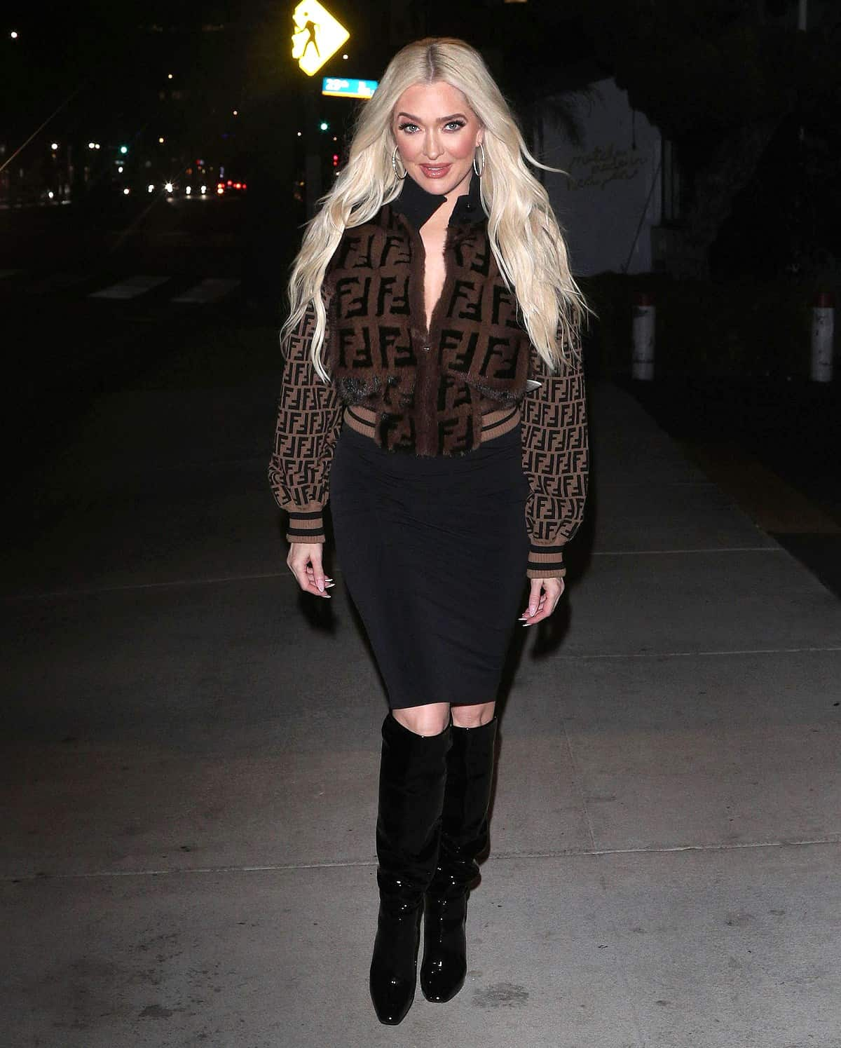 Erika Jayne Steps Out For Dinner in First Public Appearance Since Divorce