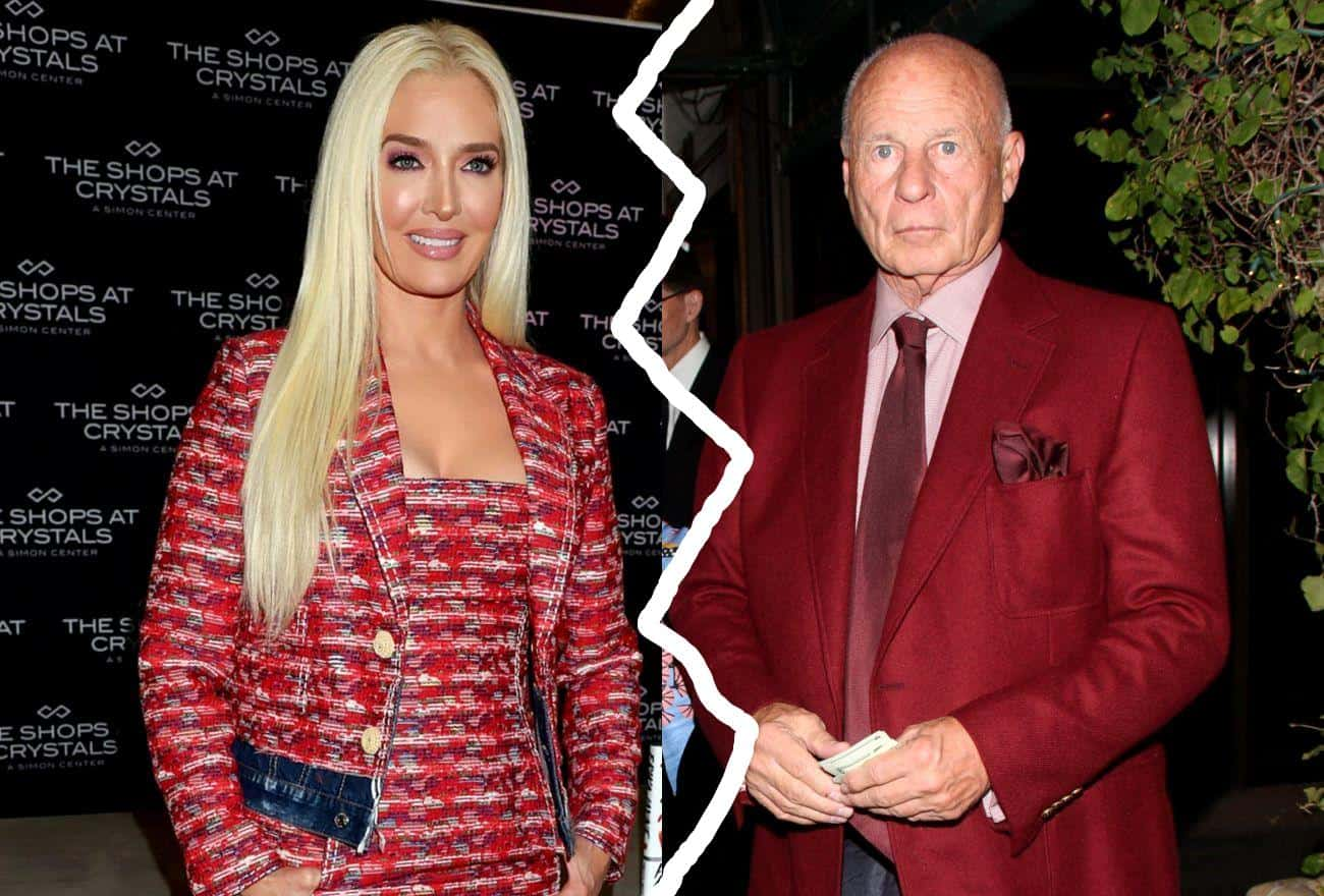 Thomas Girardi Wants Erika Jayne to Pay His Attorney Fees and Asks Court to Deny RHOBH Star's Spousal Support Request in Response to Her Divorce Filing