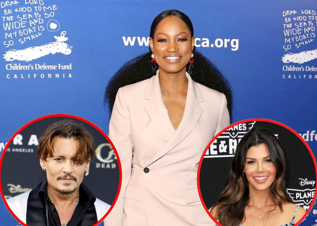 RHOBH's Garcelle Beauvais Reveals She Once Dated Johnny Depp and Rates His Kissing Skills, Plus Ali Landry Confirms She's Spoken to Producers About a Future Role