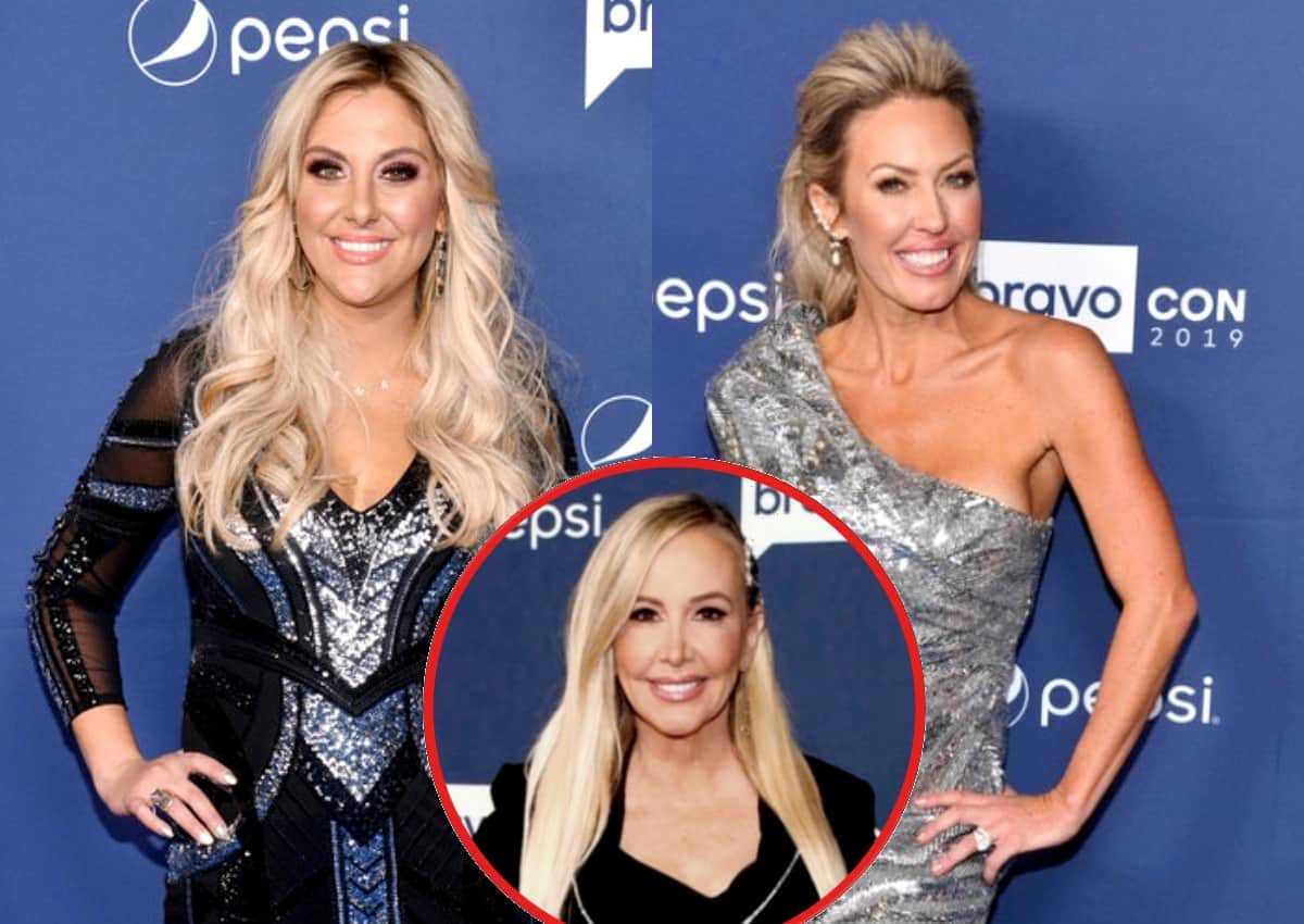 "Gina Kirschenheiter Doesn't Think Braunwyn Should Return to RHOC for Season 16 and Calls Out Shannon for ""Inappropriate"" Behavior, Reacts to Rumors of Braunwyn Dating RHONY Alum Barbara Kavovit"