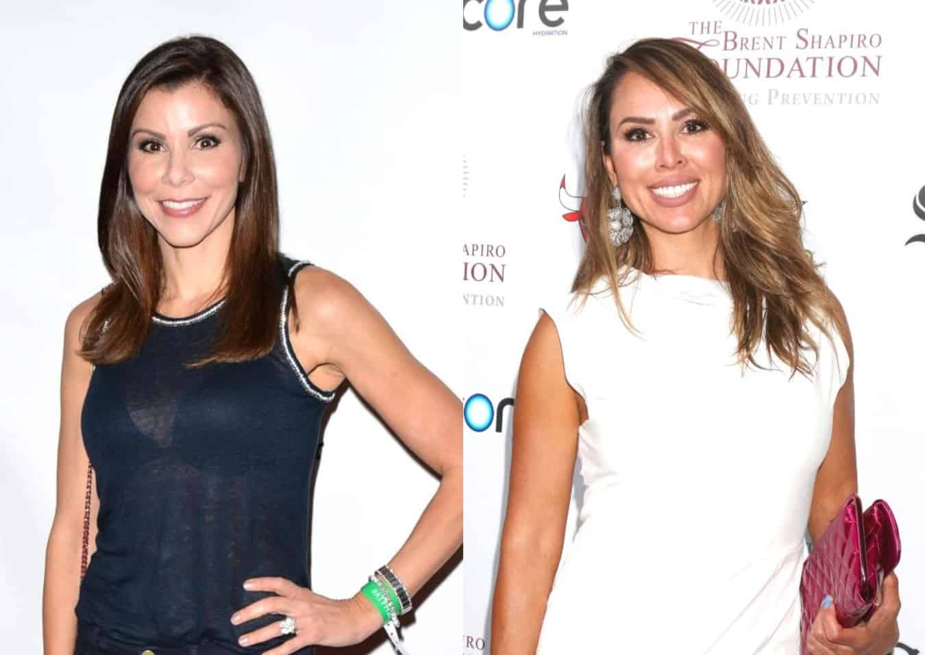 Heather Dubrow Addresses RHOC Boycott and Kelly Dodd Being 'Canceled,' Plus She Reveals Near-#MeToo Experience and Teases a New Family Reality Show