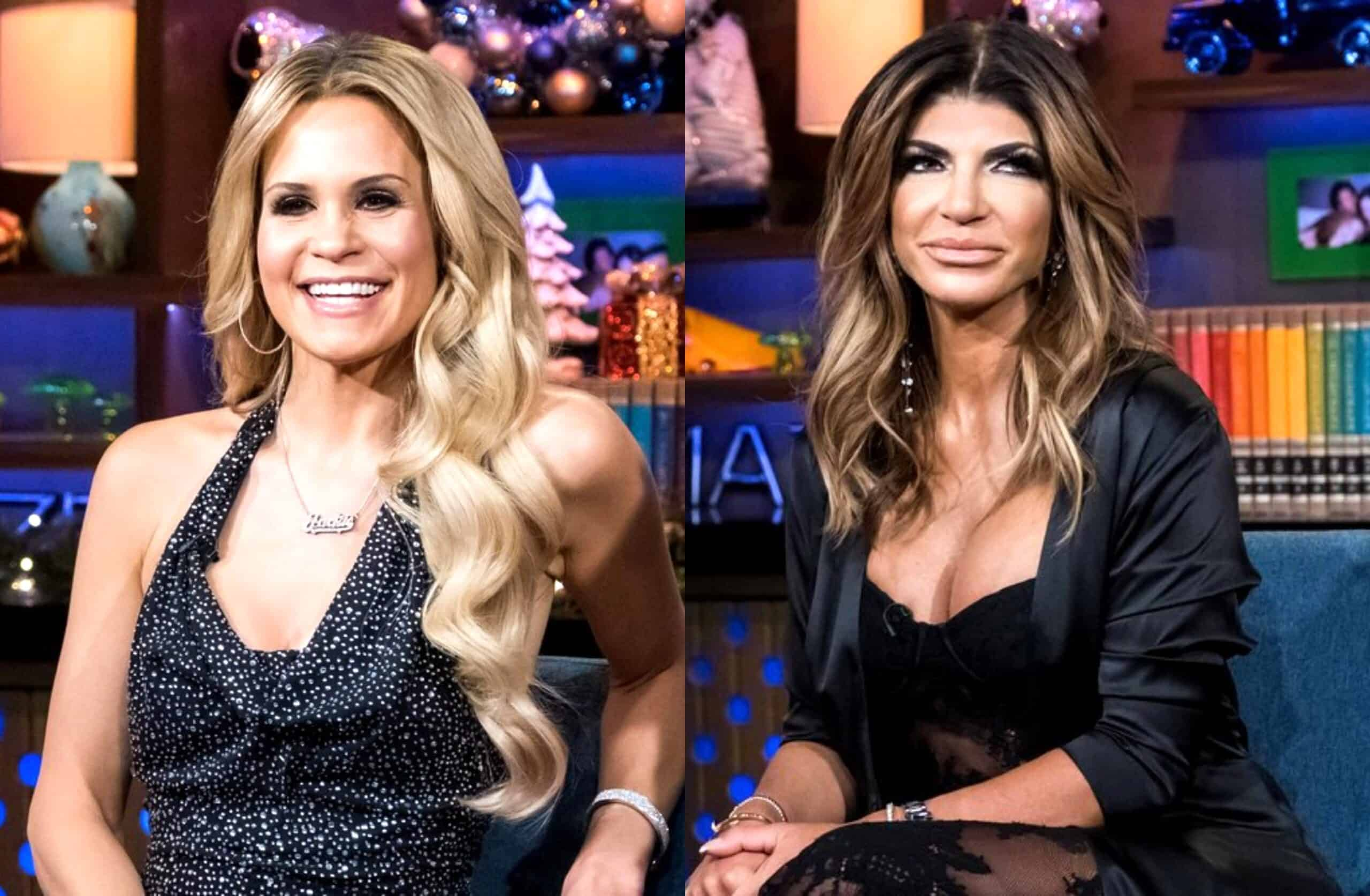 "RHONJ's Jackie Goldschneider Discusses ""Ugly"" Feud With Teresa Giudice, Admits She Skipped Filming Group Events Due to the Drama Between Them"