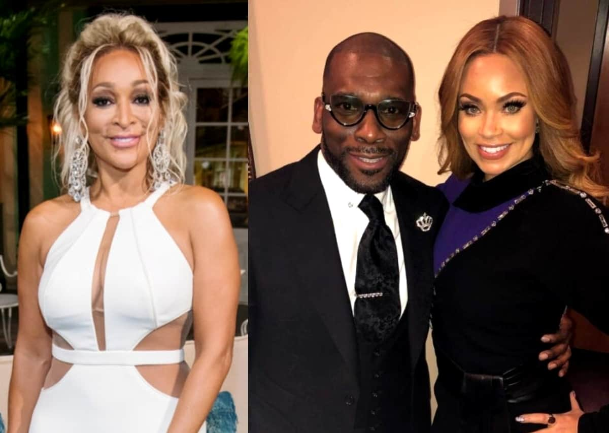 RHOP's Karen Huger Exposes Gizelle For Lying About Spending Night With Jamal Bryant in Atlanta, See the Receipts, Plus She Says Cynthia Bailey Was Upset Over Gizelle's Comment About Her Wedding
