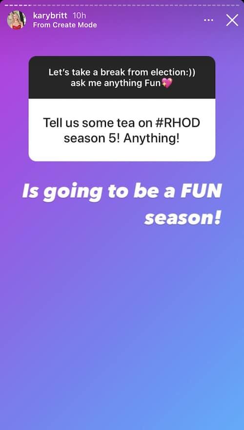 Kary Brittingham Says RHOD Season 5 Will Be Fun