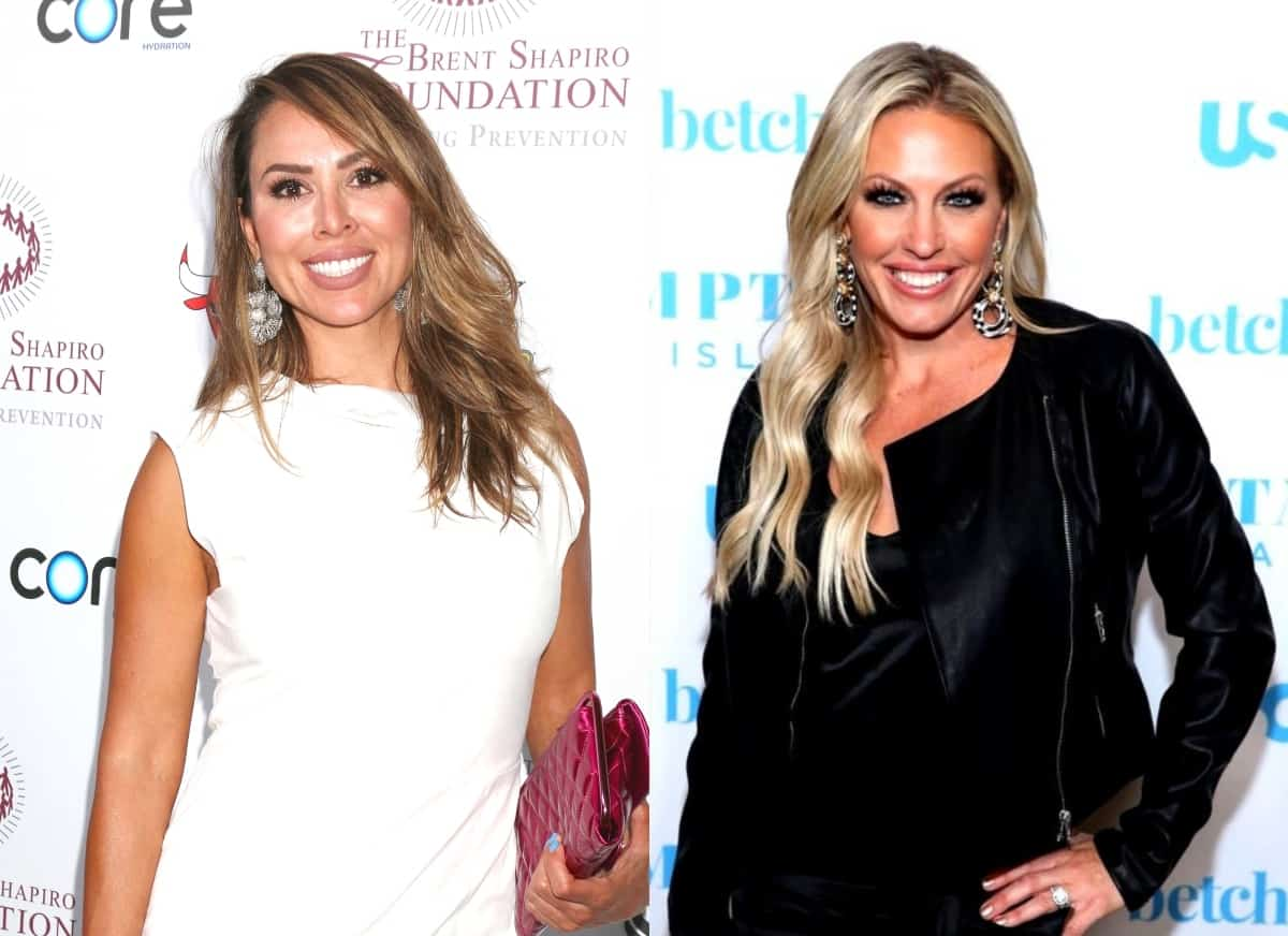 "Kelly Dodd Suggests Braunwyn Windham-Burke Puts Fame Ahead of Her Kids, Tells Her to Quit RHOC Because Cast Doesn't Like Her, Plus Emily Slams Braunwyn for ""Hypocrisy"" and Encourages Sean to Leave Show"