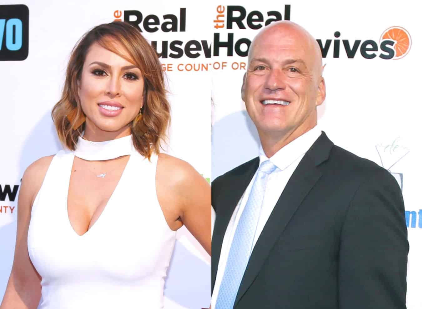 "RHOC Star Kelly Dodd Leaks Text Messages From Ex Michael Dodd Amid Their Custody Battle Over Daughter, Alleges He ""Doesn't Want to See Her"" and Shares Text From Michael's Girlfriend Demanding She Remove Posts"