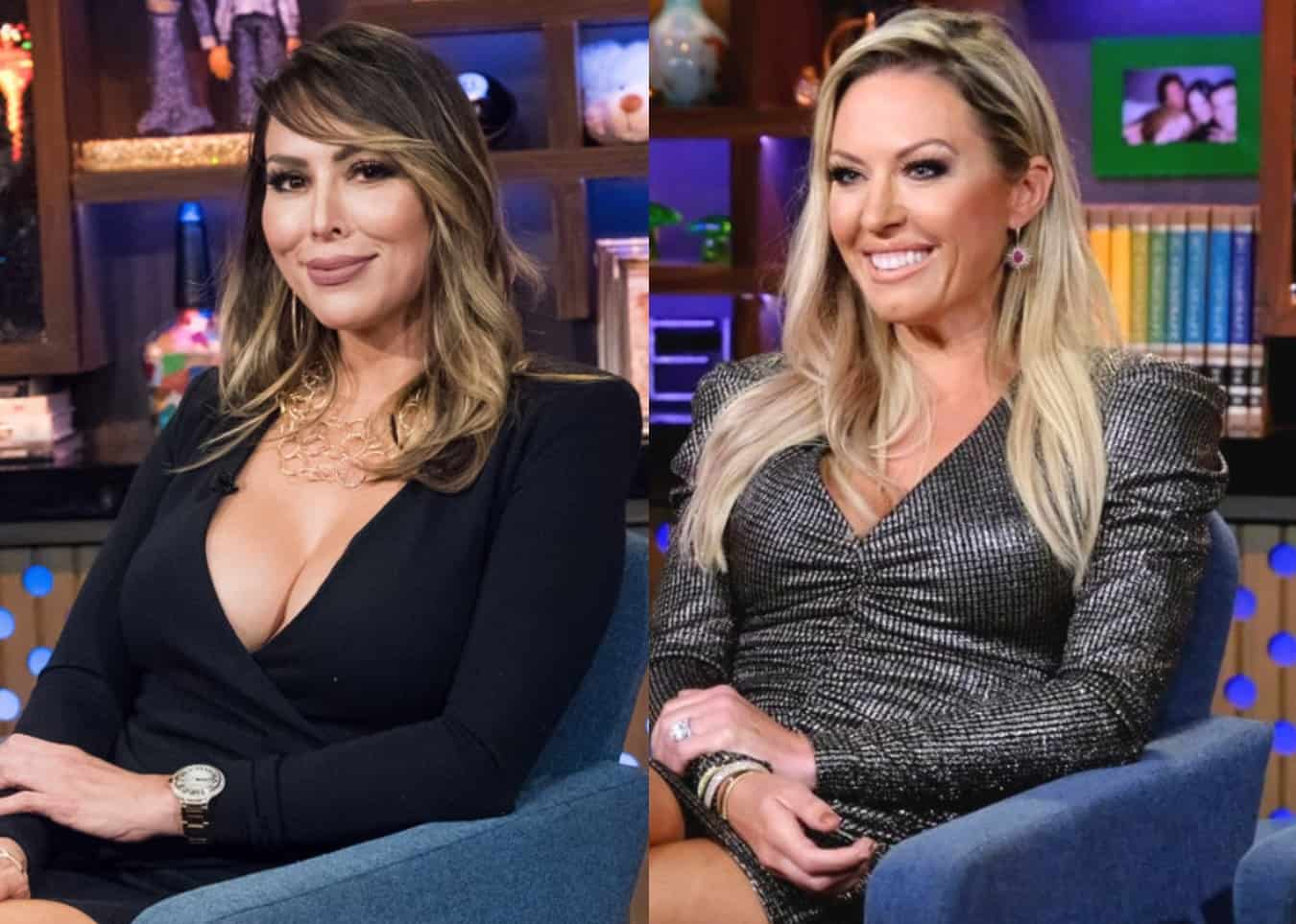 "'RHOC' Kelly Dodd Leaks Video of Braunwyn's License Plate and Accuses Her of Not Paying Taxes, Slams Her as ""Thirsty"" and a ""Loser,"" and Says She Looks 10 Years Older, See the Video She Took Outside of Braunwyn's Home"