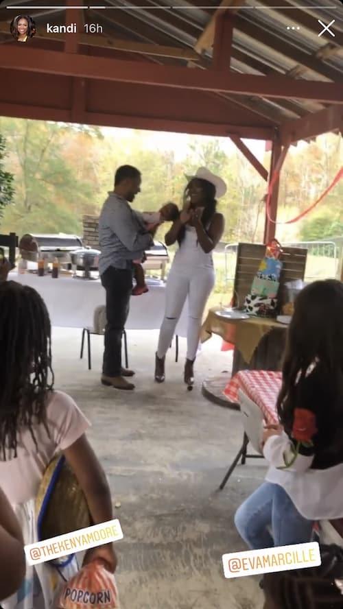 RHOA Kenya Moore and Marc Daly Celebrate Daughter Brooklyn's Birthday