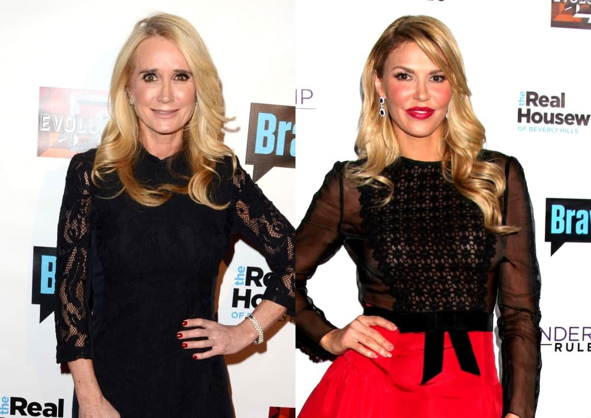 "Is Kim Richards the RHOBH Star Who Hooked Up With Brandi Glanville? Plus Brandi is Accused of Having an Alleged ""Little Fling"" With Ex-Housewife Carlton Gebbia"