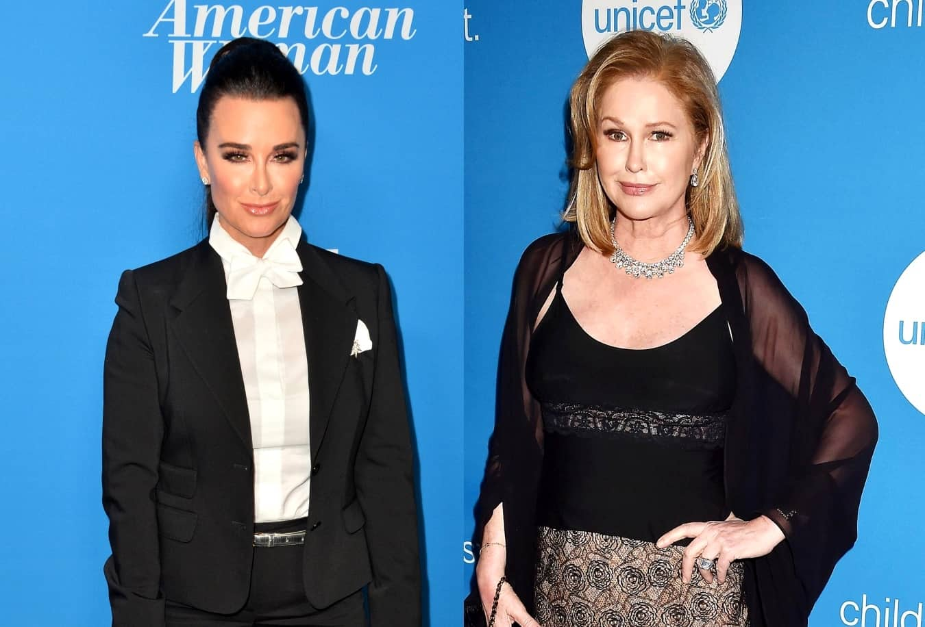 "REPORT: Kyle Richards and Kathy Hilton Having ""A Clash of Egos"" While Filming RHOBH, Does Kyle Fear Kathy Will ""Push Her Out of the Spotlight?"""