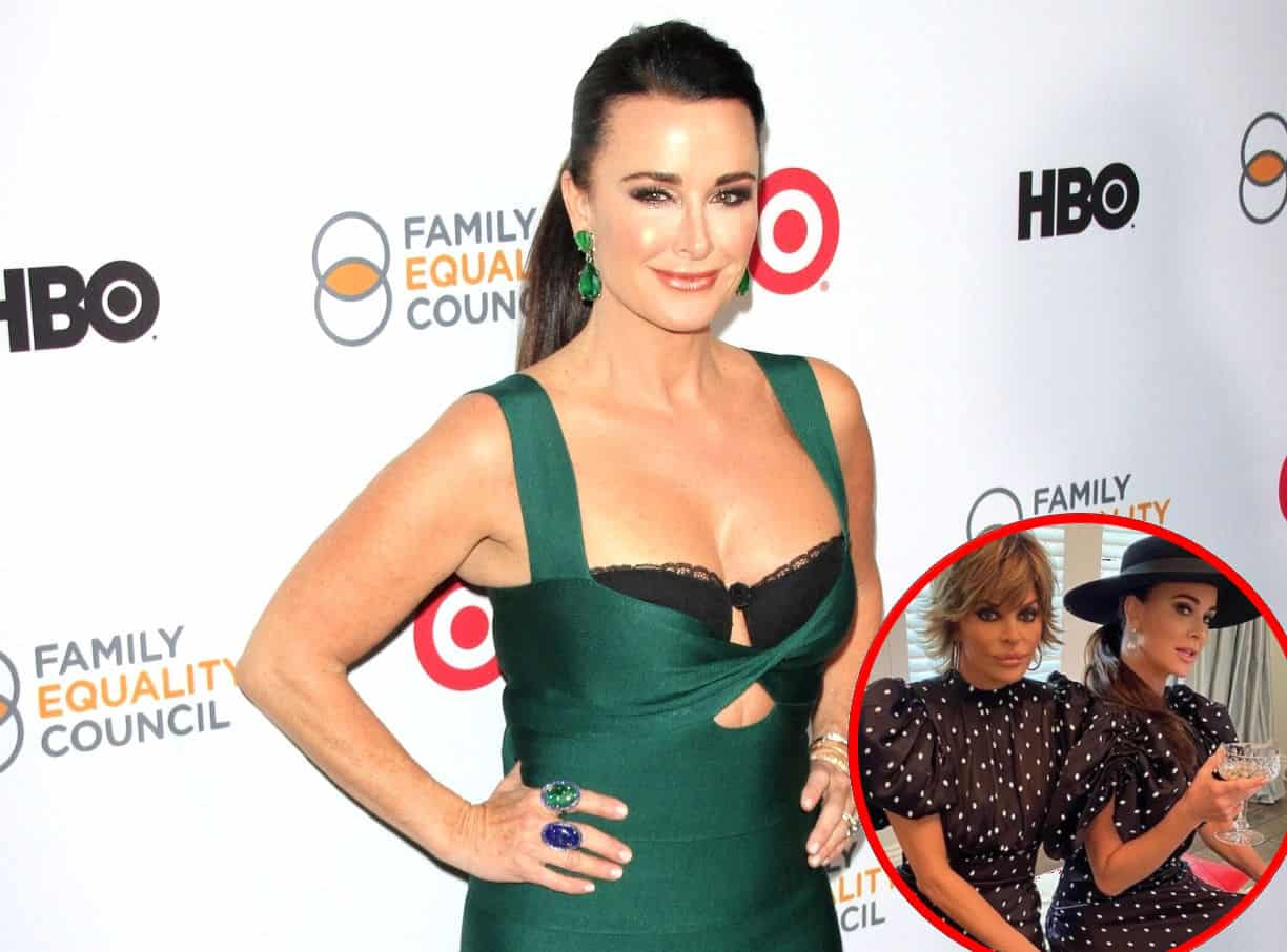 """Kyle Richards Reveals Which RHOBH Photo Got Her in """"A Lot of Trouble,"""" Plus She and Lisa Rinna Accidentally """"Twin"""" in Matching Outfits During Filming on Season 11"""