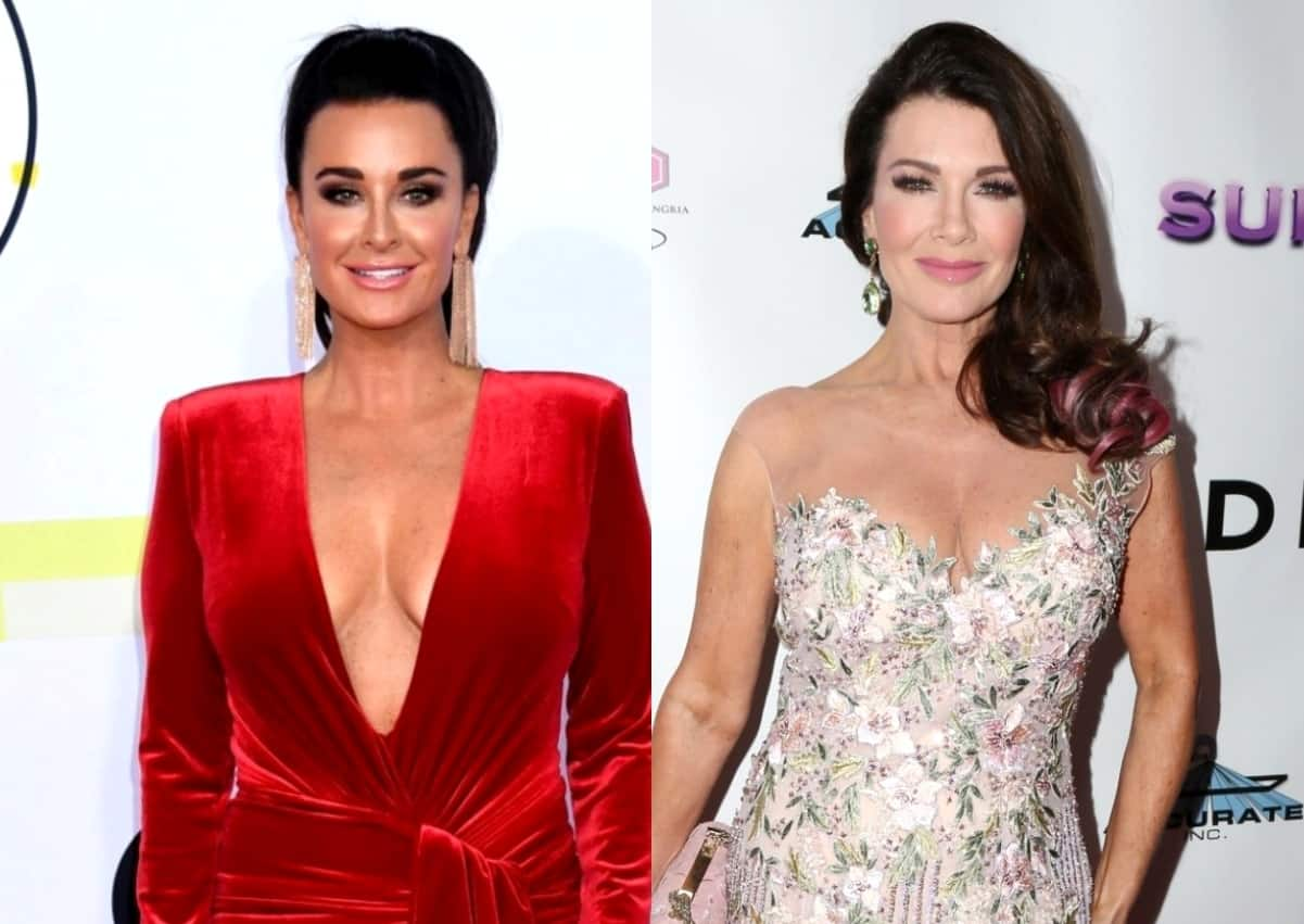 PHOTO: RHOBH's Kyle Richards and Lisa Vanderpump Cross Paths at Los Angeles Restaurant as They're Seated Just Tables Apart Over a Year After Their Messy Falling Out