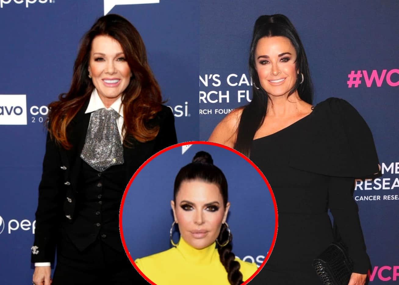 "Ex-RHOBH Star Lisa Vanderpump Slams Kyle Richards for Faking Sympathy But Admits a Reconciliation Is Possible and Says They Had a ""Unique Chemistry,"" Plus Reacts to Brandi Glanville and Denise Richards' Alleged Affair and Calls Out Lisa Rinna for Betraying Denise"