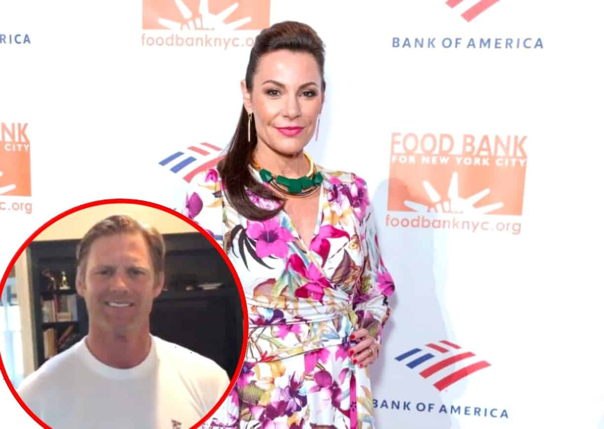 "RHONY Star Luann de Lesseps Confirms Relationship With New Boyfriend Garth Wakeford, Steps Out With ""Handsome"" Beau"