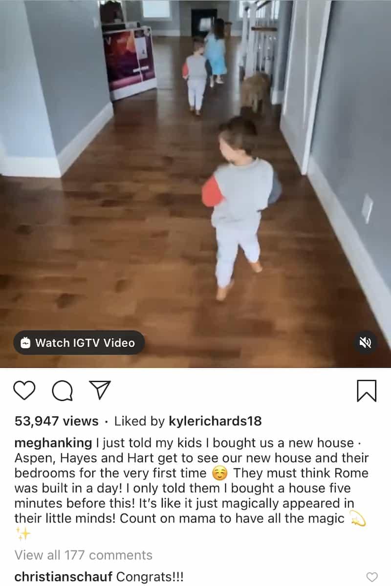 RHOC Meghan King Edmonds' Ex-Boyfriend Christian Schauf Reacts to New Home