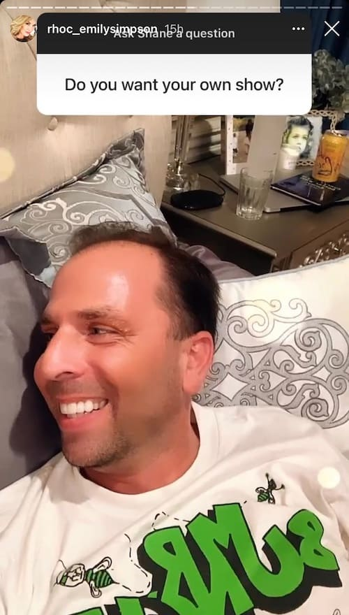 RHOC Shane Simpson Wants His Own Show