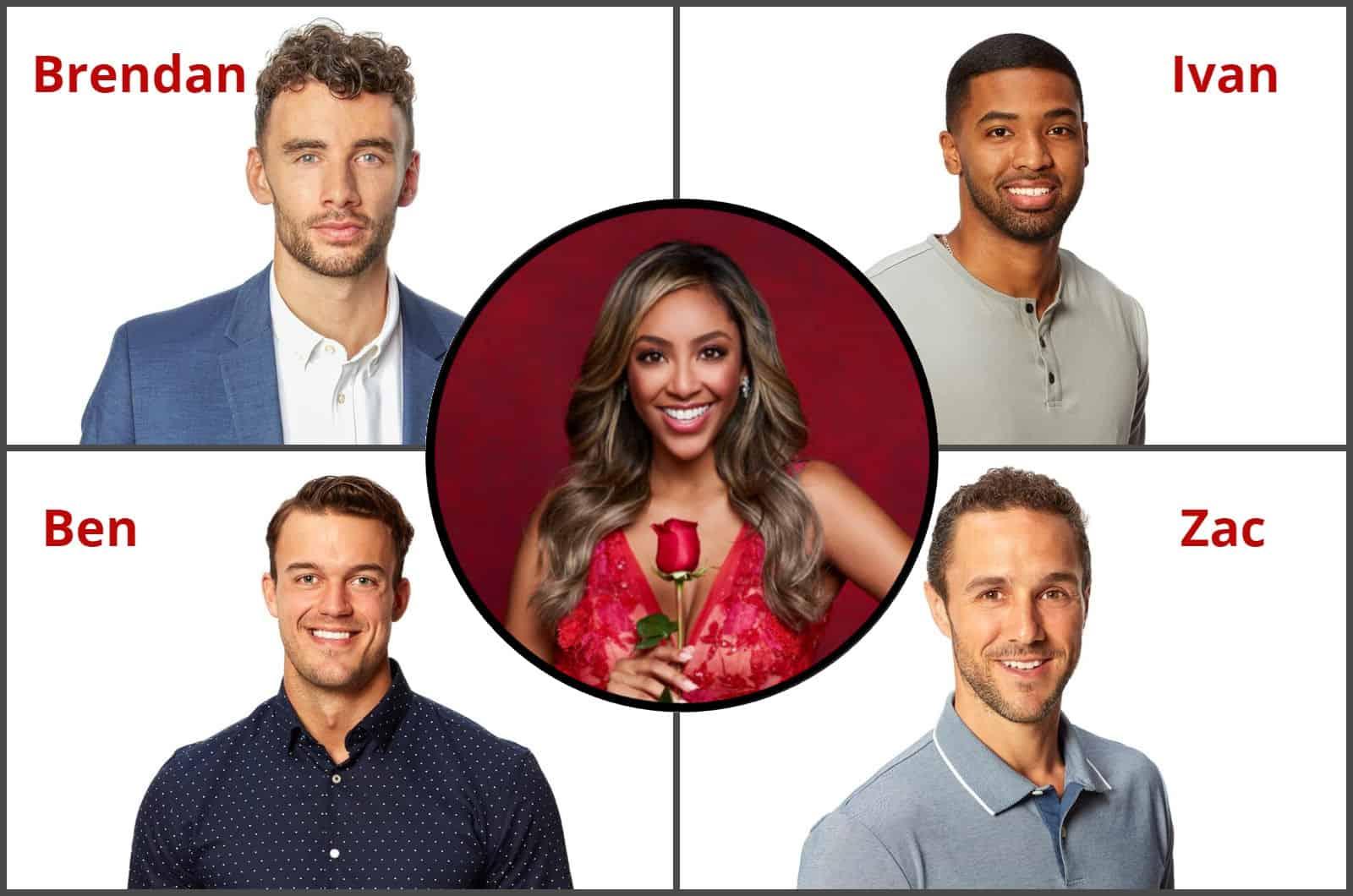 The Bachelorette 2020 Spoilers Tayshia Adams Final Four Men