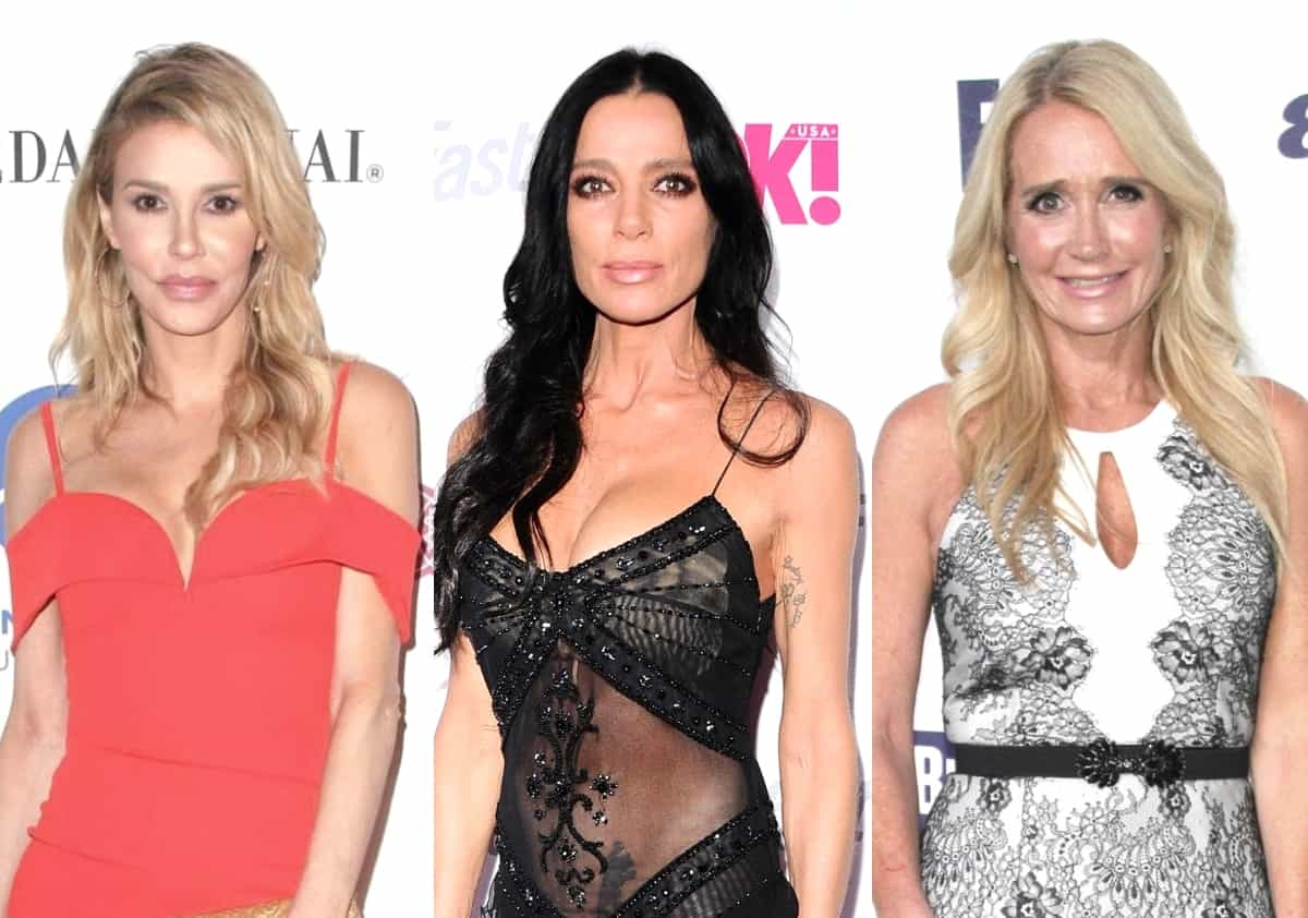 "'RHOBH' Brandi Glanville Confirms She ""Fooled Around"" With Carlton Gebbia, Says Kim Richards No Longer Talking to Her After Hookup Rumors and Teases Tell-All"