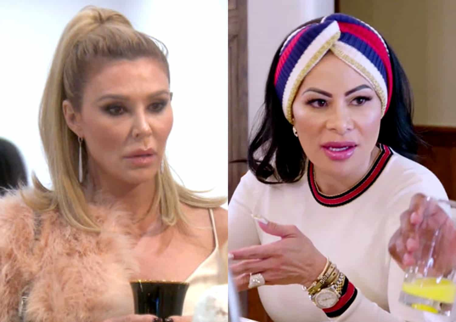"Brandi Glanville Feuds With RHOSLC Star Jen Shah After Slamming Jen and Lisa Barlow as ""Fakest B--ches"" on Show: ""I Have My F--king Opinions!"", Jen Claps Back"