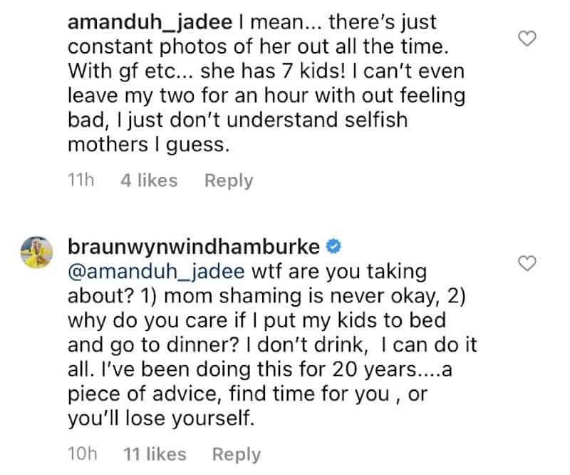 RHOC Braunwyn Windham-Burke Calls Out Mom-Shamers After Being Labeled Selfish