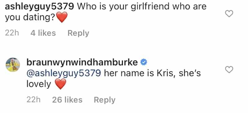 RHOC Braunwyn Windham-Burke Gushes Over Girlfriend Kris